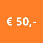 Donatie 50 euro